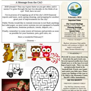 02-2020 Newsletter